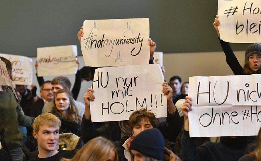 #holmbleibt: Das Stupa der FU Berlin solidarisiert sich mit den Besetzer*innen des ISW