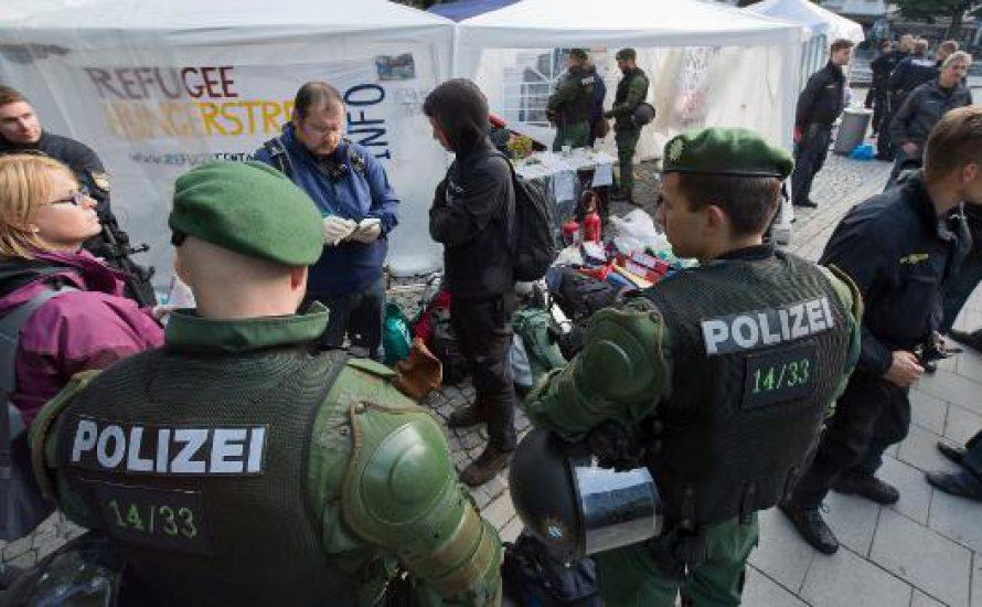 Interview: Proteste der Geflüchteten in München
