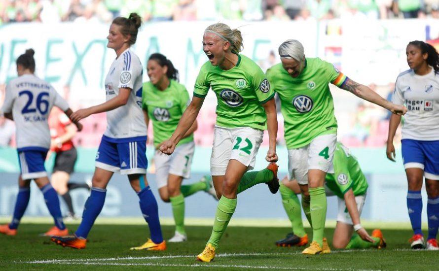VfL Wolfsburg: Frauen holen das Double, feiern dürfen sie nicht