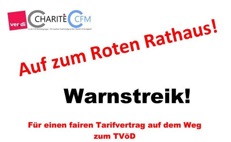 Mittwoch 26.8.: Demonstration gegen Einschüchterungen und Bedrohungen bei der Charité Facility Management