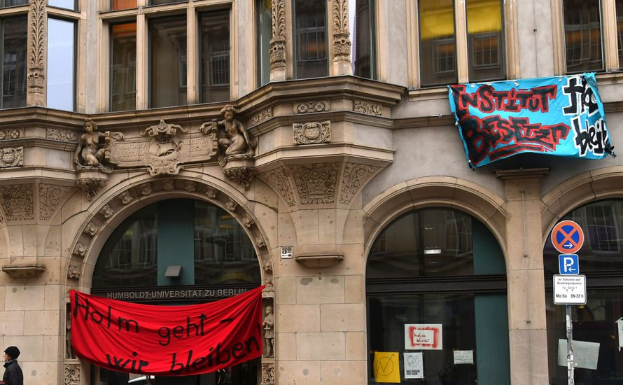 Eskalation an der HU: Uni-Leitung sperrt studentische Selbstverwaltung aus