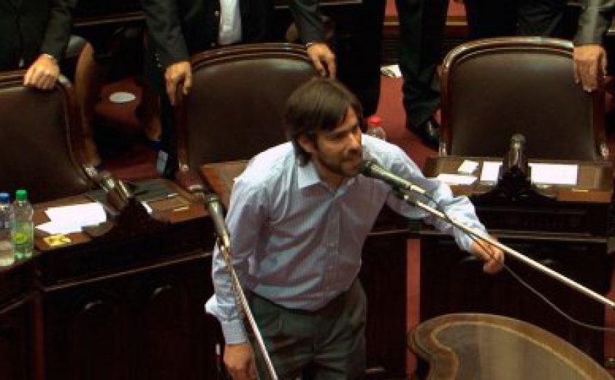 Drei Trotzkisten im argentinischen Parlament
