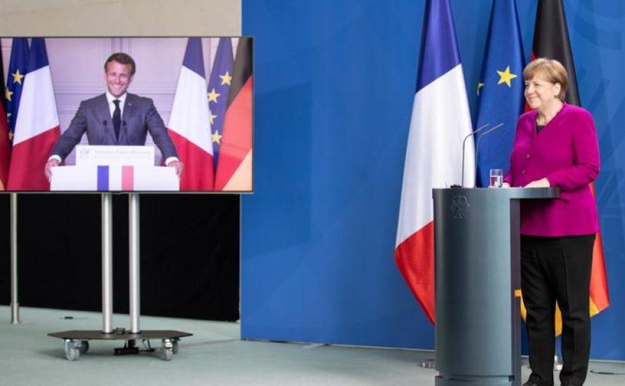 Merkel/Macron: Konzerne retten, Arbeiter*innen zur Kasse zwingen