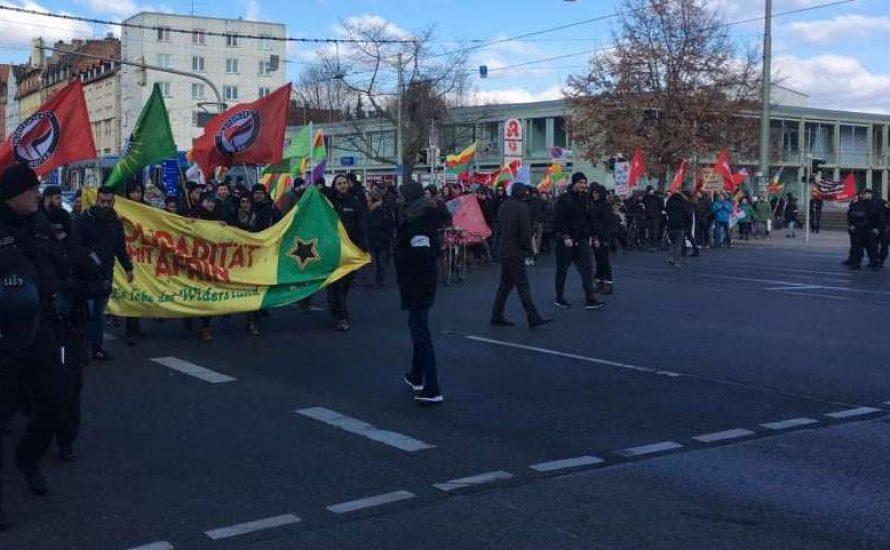 [Video] Kassel: 400 Menschen demonstrieren in Solidarität mit Afrin