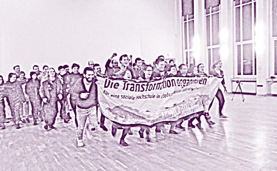 Aktionstag der Mediziner*innen an der Uni Frankfurt