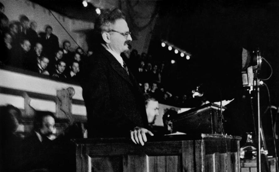 Kopenhagener Rede von Leo Trotzki zur Verteidigung der Oktoberrevolution