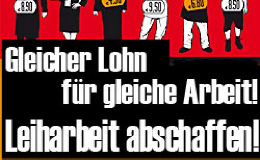 ABC des Marxismus: L wie Leiharbeit
