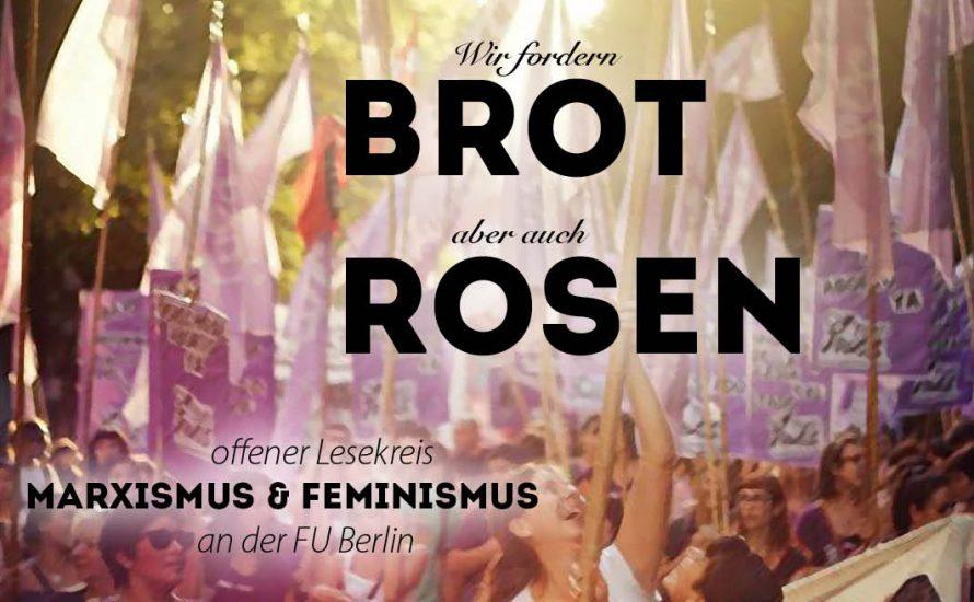 FU Berlin: Brot und Rosen lesen!