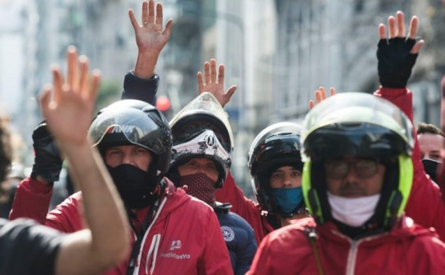 Lateinamerika: Beschäftigte der Lieferdienste im Kampf