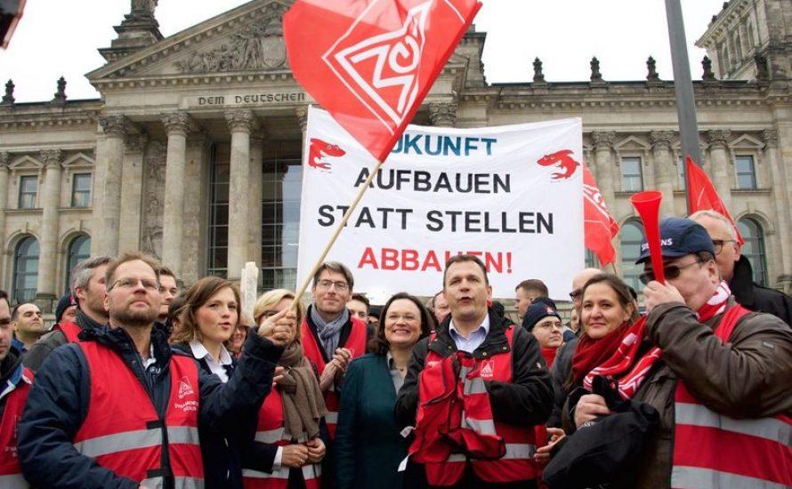 Linkspartei will Massenentlassungen verbieten