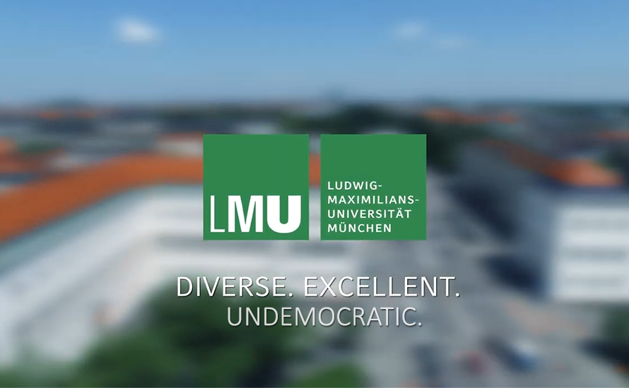 LMU Präsidium präsentiert: Ein Q&A ohne Fragen und Antworten
