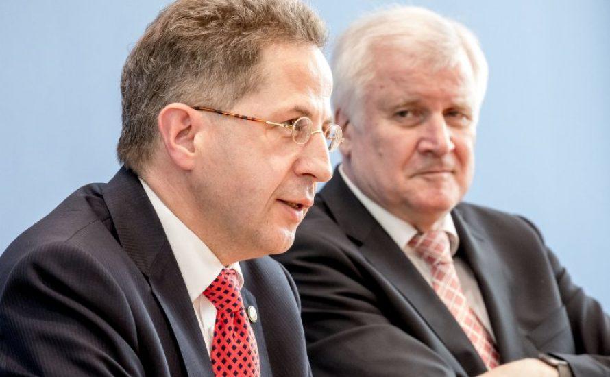 Verfassungsschutz finanziert, AfD organisiert und Seehofer legitimiert