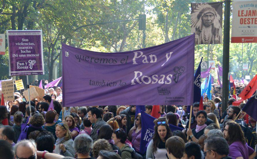 Madrid: Historische Demonstration gegen sexuelle Gewalt