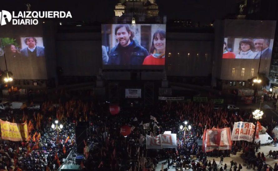 [Video] Argentinien: Tausende bei Wahlkampfabschluss der