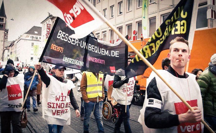 Tarifrunde im öffentlichen Dienst: Bsirske und De Maiziere freuen sich über mickriges Ergebnis