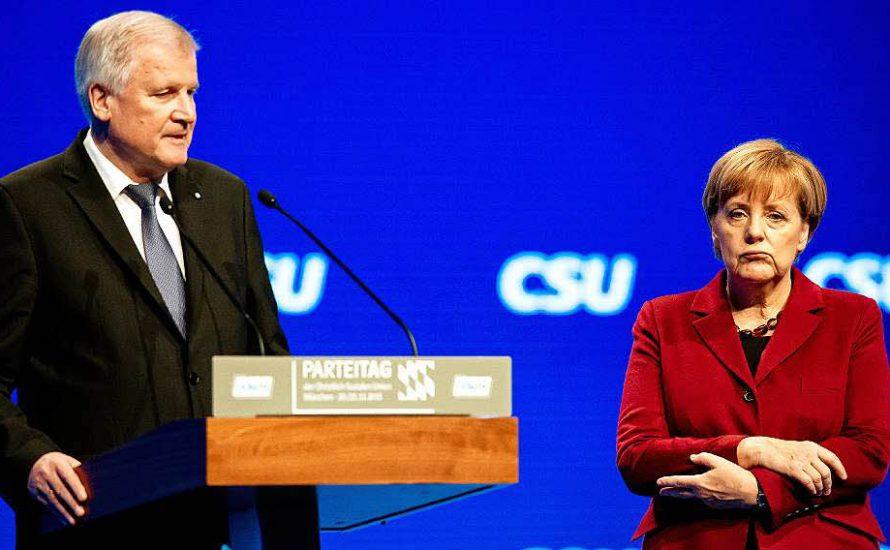 Seehofer-Aufstand: Symptom des endenden Merkelismus