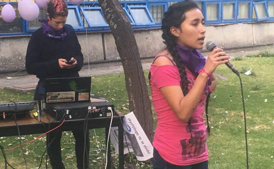 Mexikanische Studis machen für den 8. März mobil
