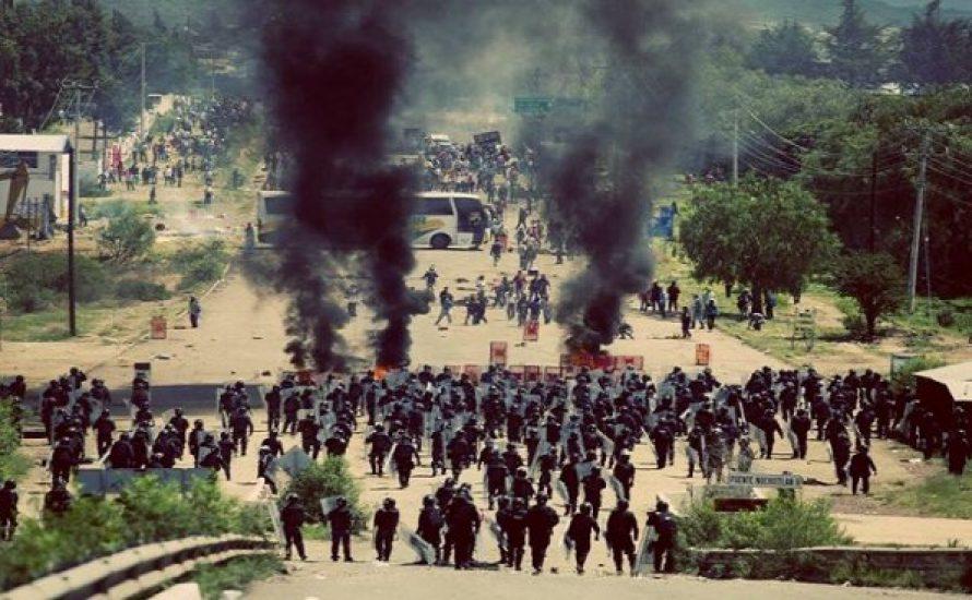 Mexikanische Regierung ermordet kämpfende Lehrer*innen