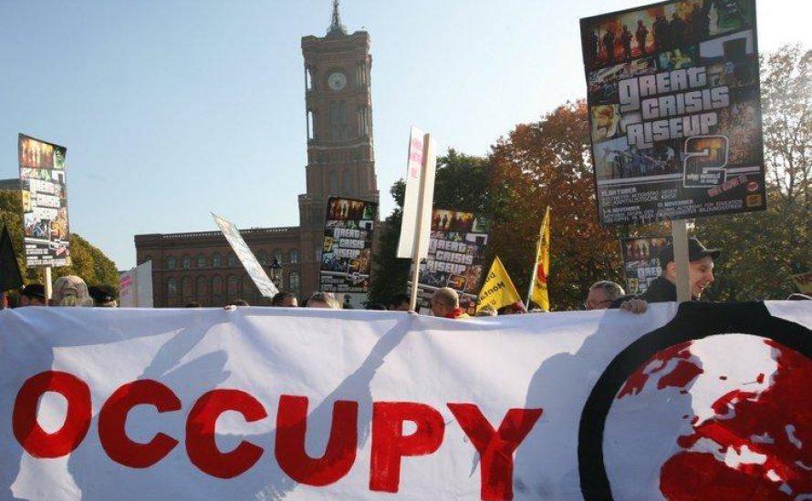 Occupy-Demo am 29. Oktober in Berlin