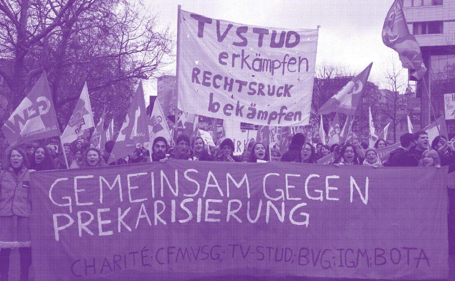 Pflege, Gewerkschaft und Streik
