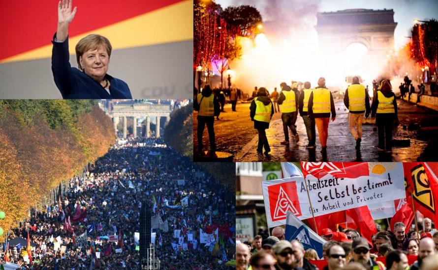 Europa 2018: Bye-bye Merkel, hallo Massenmobilisierungen
