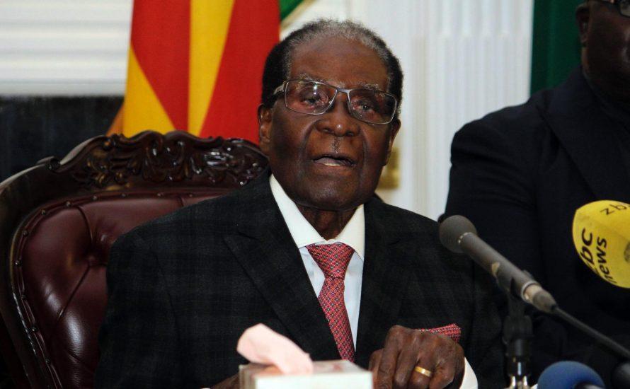 Mugabe tritt zurück: Game of Thrones in Simbabwe vorbei