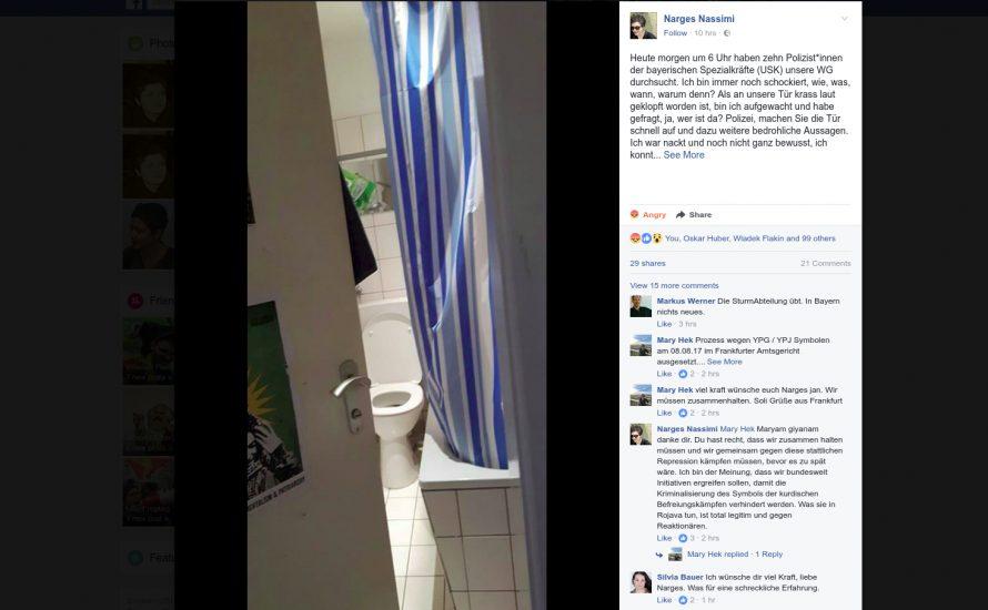 """Sexistische Razzia in München: """"Ein Polizist ist mir bis auf die Toilette gefolgt"""""""