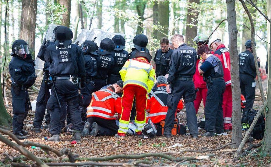 Todesopfer bei Räumung im Hambacher Forst – RWE und Polizei verantwortlich