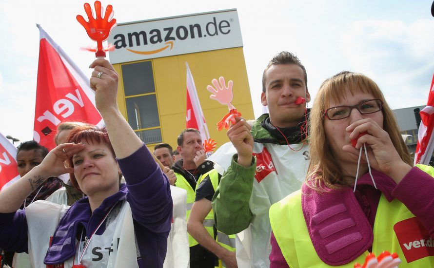 Bundesweite Solidarität für die Amazon-Streiks!