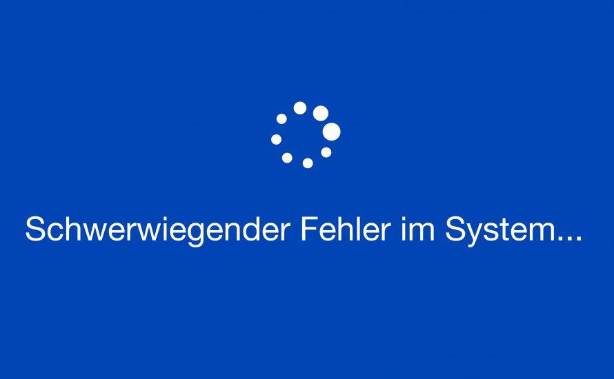 Online-Semester: Schwerwiegender Fehler im System