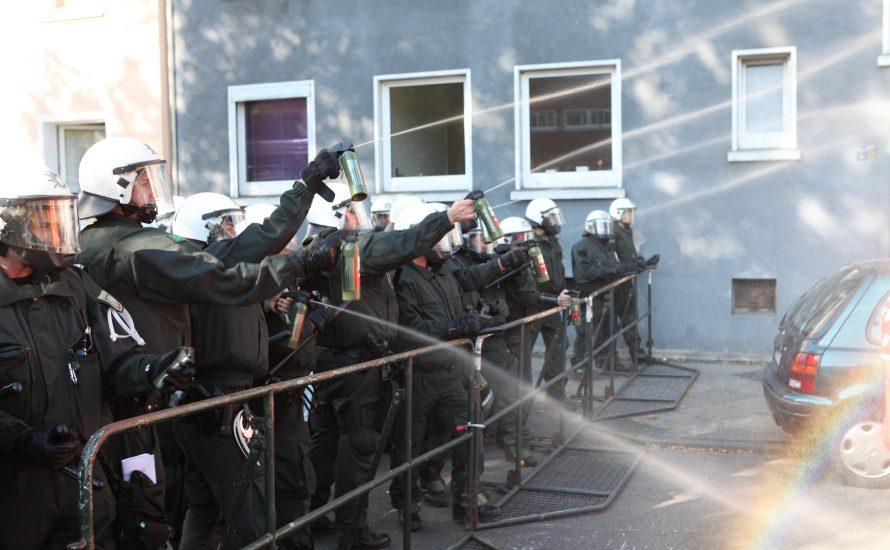EZB-Proteste 2015 – Verfassungsbeschwerde gegen Polizeiwillkür