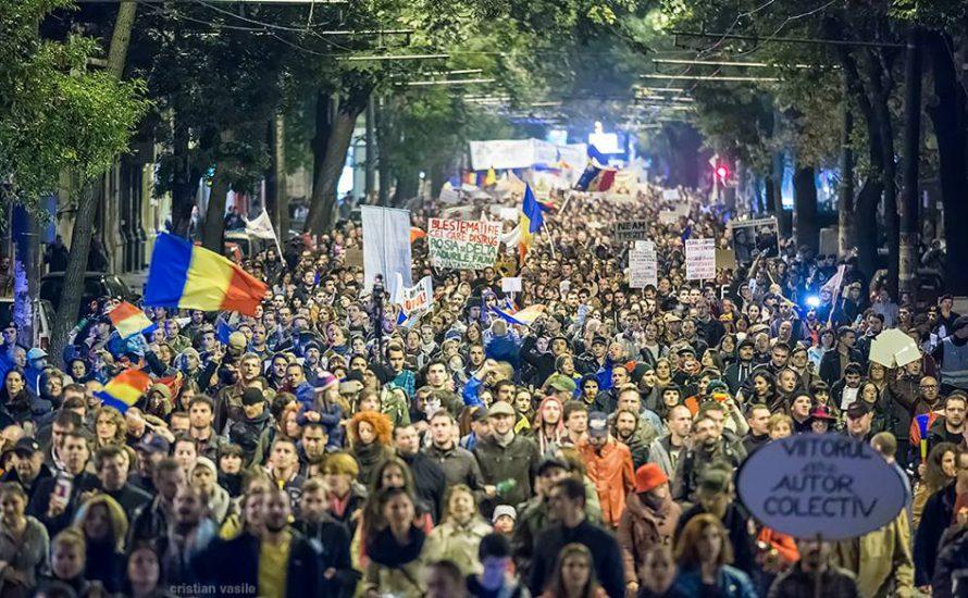 Was steht hinter den Massendemonstrationen in Rumänien?