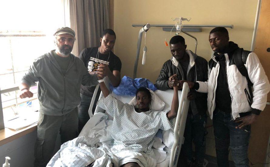 Todesangst vor Abschiebung: Mann stürzt vom Dach der Ausländerbehörde