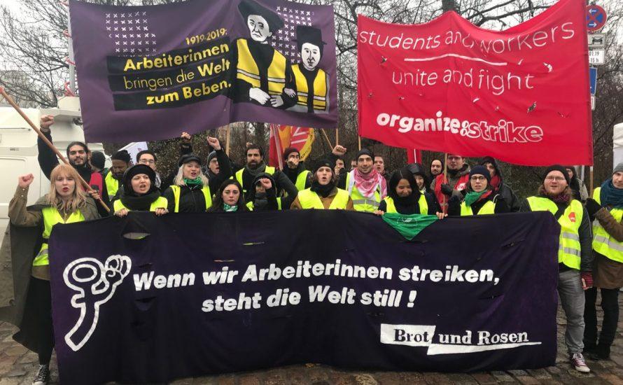 Ein Blick von außen: Brot und Rosen auf der Luxemburg-Liebknecht-Demonstration