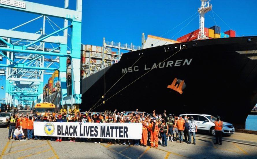 Hafenarbeiter*innen aus USA und Kanada im Streik: Black Lives Matter!