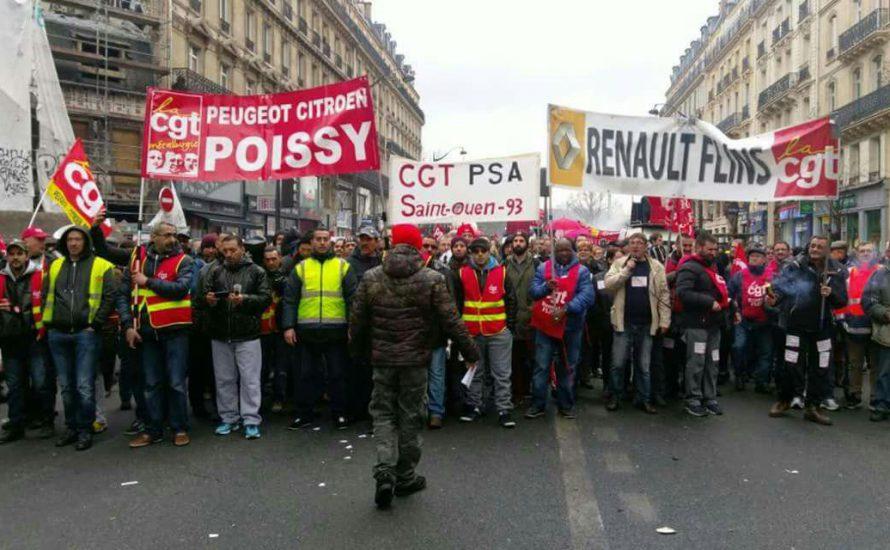 Jugend gegen Rassismus: Solidarität mit den Streiks in Frankreich