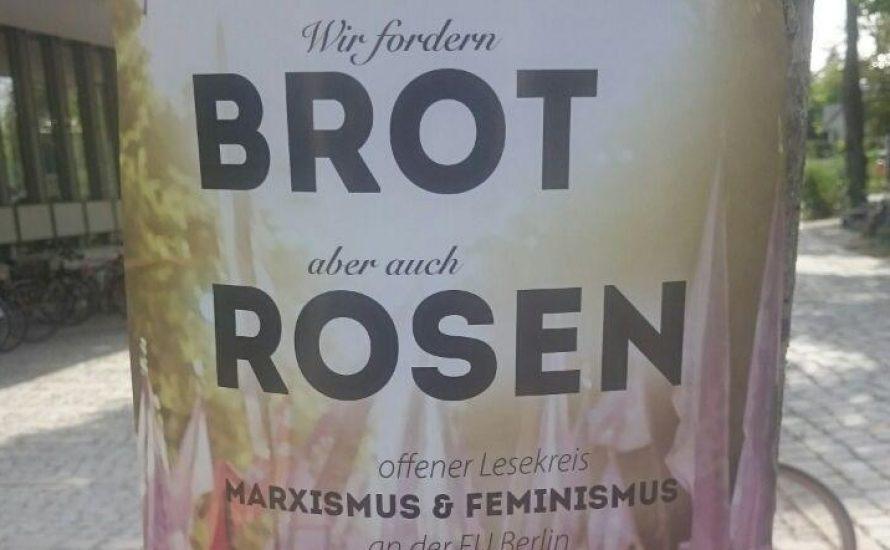 Brot und Rosen: Lesekreis an der FU hat begonnen