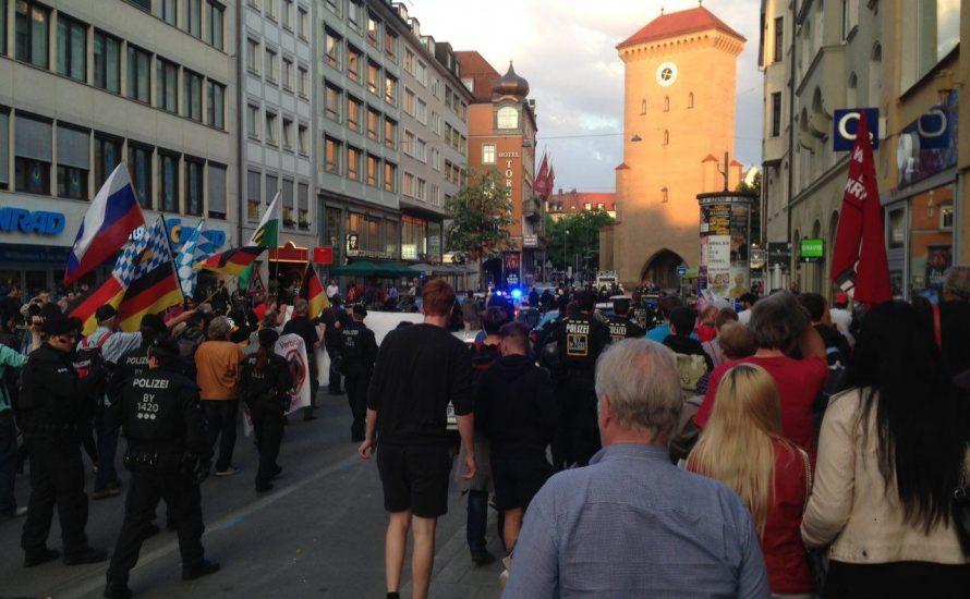 Pegida München: Wehrmachtslieder am Marienplatz