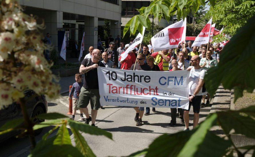 Zehn Tage CFM-Streik: Von der Minderheit zur Mehrheit werden