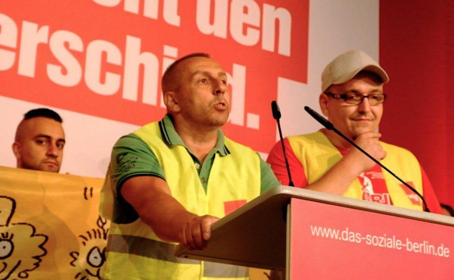 TVStud, CFM und VSG gemeinsam beim Landesparteitag der Berliner Linkspartei [mit Fotos und Video]
