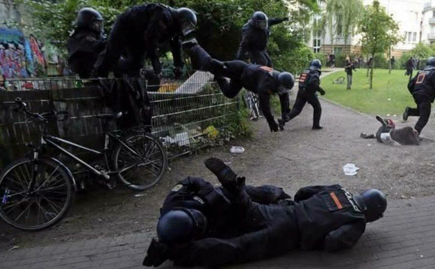 Wieviele Bullen wurden wirklich in Hamburg verletzt?