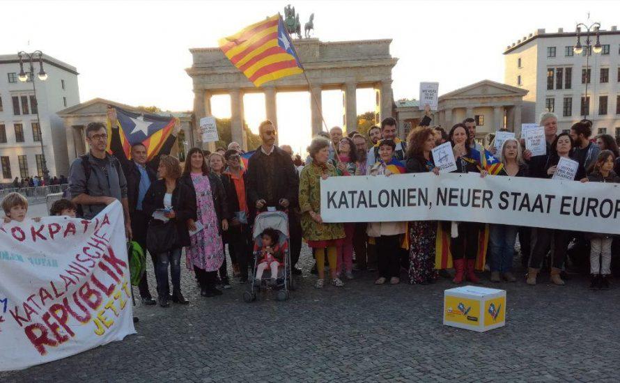 Berlin: Verteidigt das katalanische Referendum! [Fotogalerie]