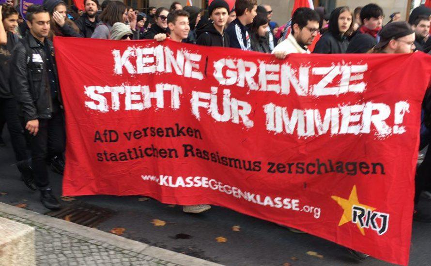Gegen die AfD heißt auch gegen die Regierung!