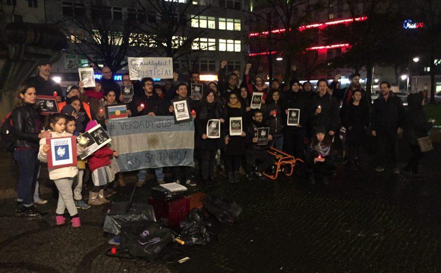 Von Buenos Aires nach Berlin: Kundgebungen fordern Gerechtigkeit für Santiago Maldonado