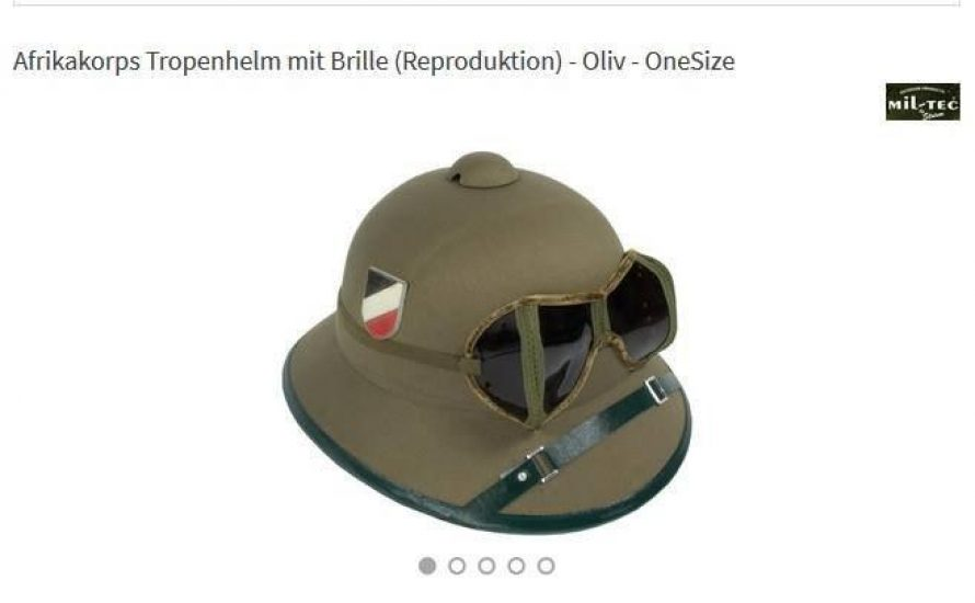 Supermarktkette Real verkauft Wehrmachts-Fanartikel
