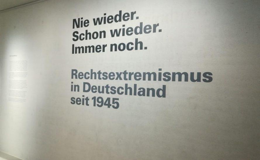 """""""Nie wieder. Schon wieder. Immer noch."""": Sonderausstellung des NS-Dokumentationszentrums München"""
