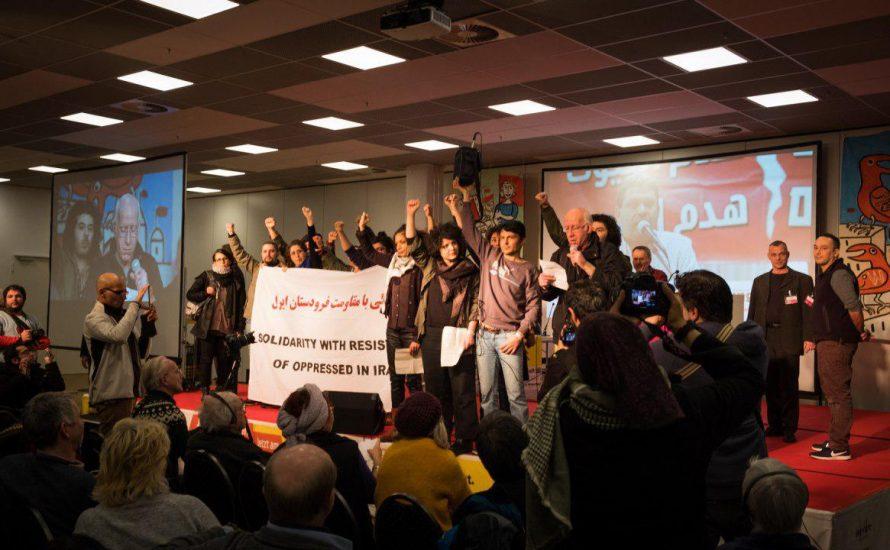 Wer waren die Besetzer*innen auf der Bühne der Rosa-Luxemburg-Konferenz? [mit Video]