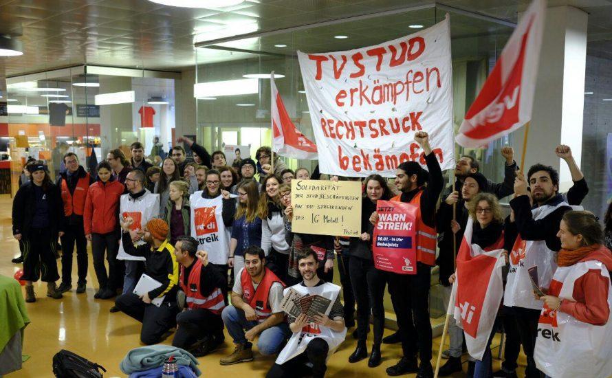 TVStud: Solidarität mit dem Streik der Metall- und Elektroindustrie