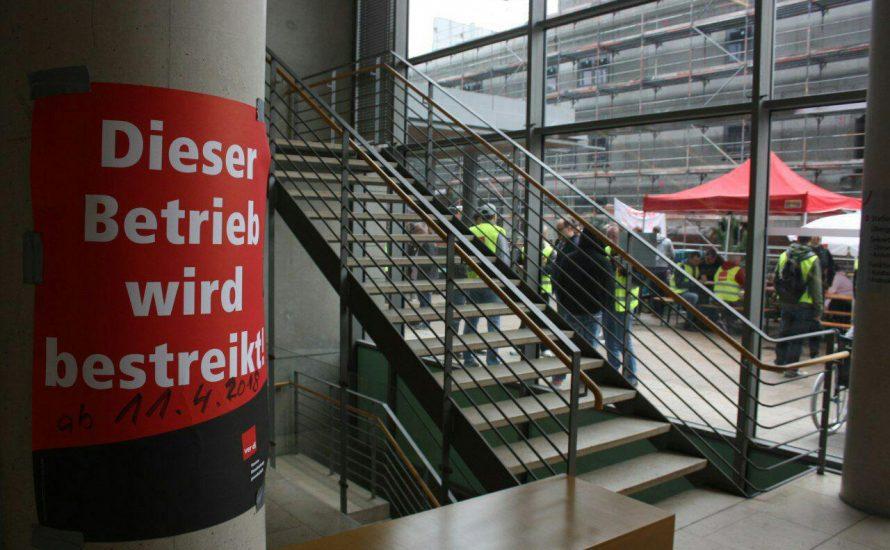 VSG: Streik zieht nach Spandau