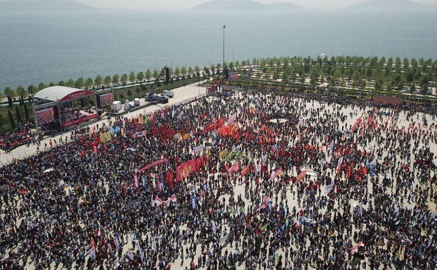 1.Mai in der Türkei trotz Ausnahmezustand